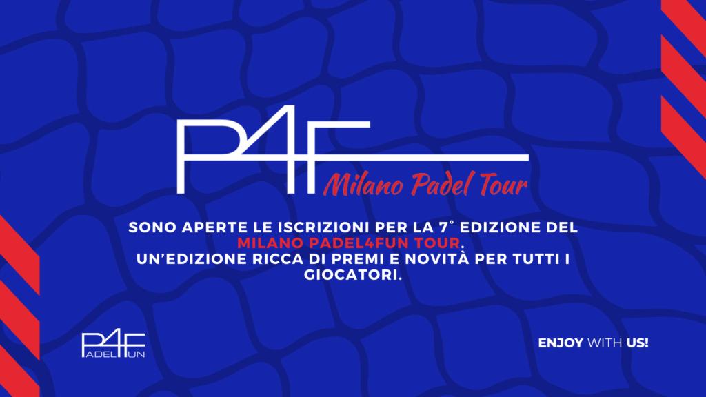 MILANO PADEL4FUN TOUR